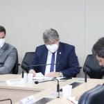 WhatsApp Image 2021 02 25 at 19.05.50 - Senador Veneziano e governador João Azevedo tratam no Ministério da Infraestrutura sobre obras rodoviárias