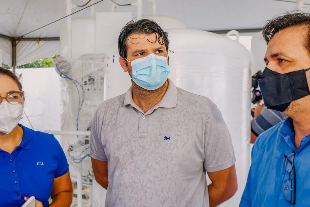 WhatsApp Image 2021 02 27 at 12.33.34 - COMBATE À COVID-19: João Pessoa receberão cinco novas usinas de oxigênio, Prontovida foi o primeiro contemplado, Leo Bandeira estaca ações da PMJP