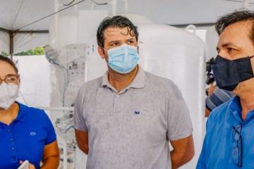 COMBATE À COVID-19: João Pessoa receberão cinco novas usinas de oxigênio, Prontovida foi o primeiro contemplado, Leo Bandeira estaca ações da PMJP