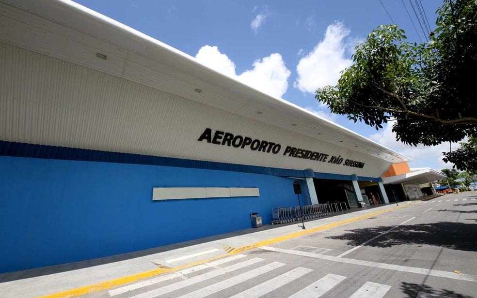 aeroporto jo o suassuna predio pista pag.especial cad.caderno 1 leonardo silva 395890 - COVID-19: Campina Grande recebe 18 pacientes de Manaus nesta quarta-feira