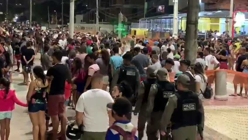 aglomeracao - Decreto com novas medidas no combate ao coronavírus na Paraíba é publicado - VEJA NA ÍNTEGRA