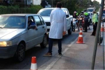 barreira sanitaria - Para conter a covid-19, Campina Grande terá barreiras sanitárias em suas entradas