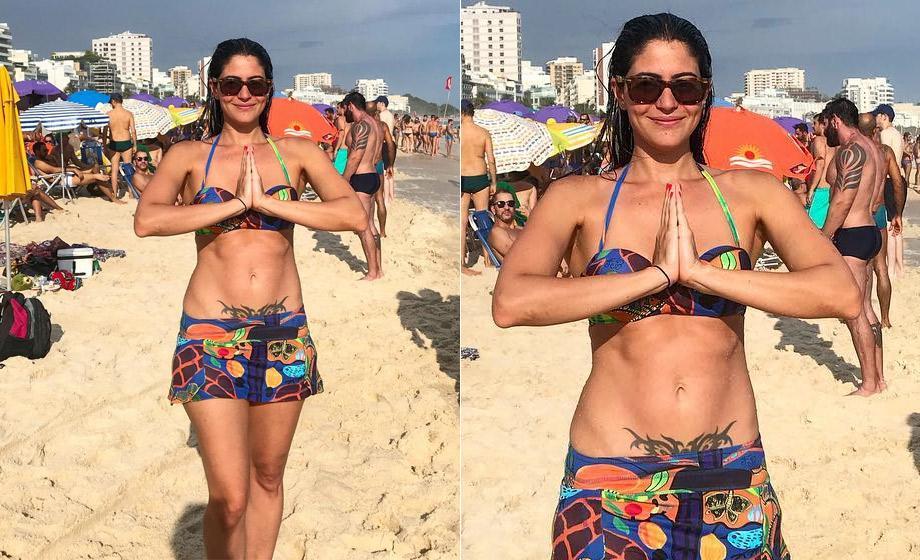 carolcastrobiquini rep inst 00 - Anitta, Bruna Marquezine e mais 12 famosas aderiram a tatuagens íntimas - VEJA