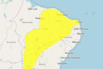 Paraíba tem previsão de chuvas intensas em 98 cidades – CONFIRA