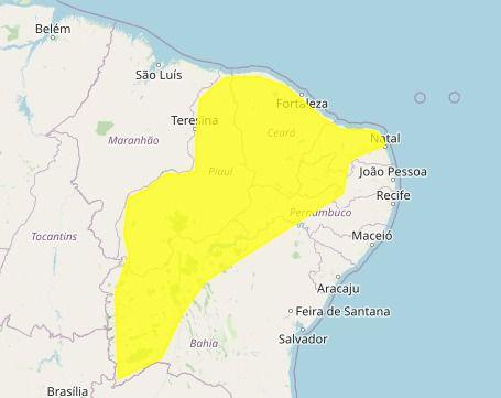 csm Inmet 6f19b34cc5 - Paraíba tem previsão de chuvas intensas em 98 cidades - CONFIRA