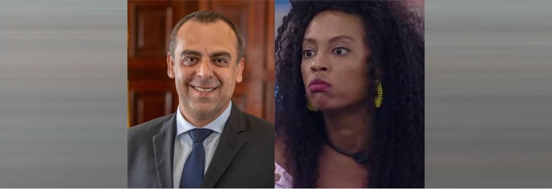 """deputado e lumena - BBB 21: Deputado acusa Lumena de cometer """"racismo contra pessoas brancas"""""""