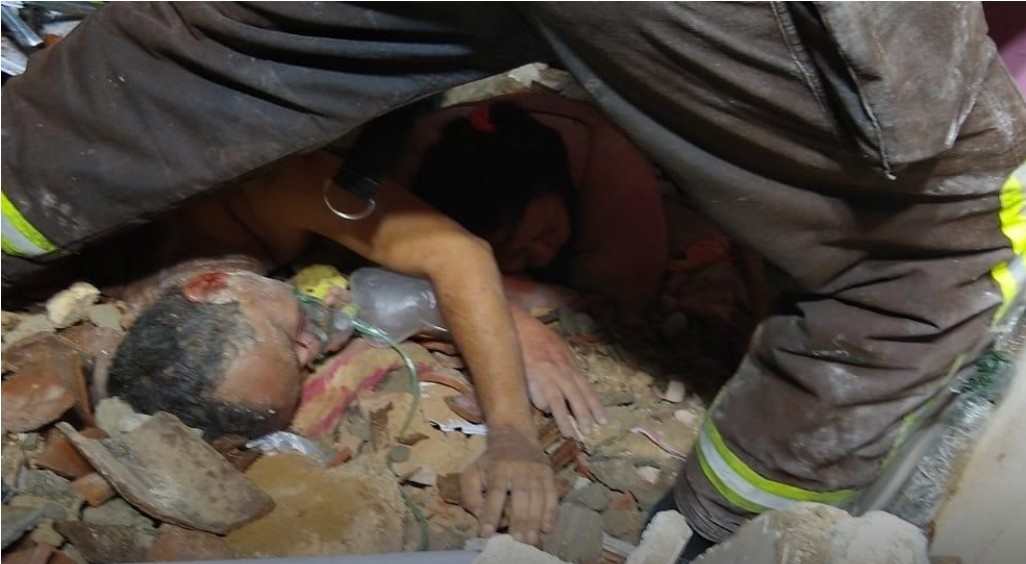 imagem 2021 02 07 152224 - Explosão de botijão de gás derruba sete casas e deixa quatro mulheres mortas