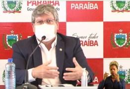 João se reúne com demais governadores do Brasil e embaixada chinesa para tentar viabilizar insumos para produção de mais doses de vacina