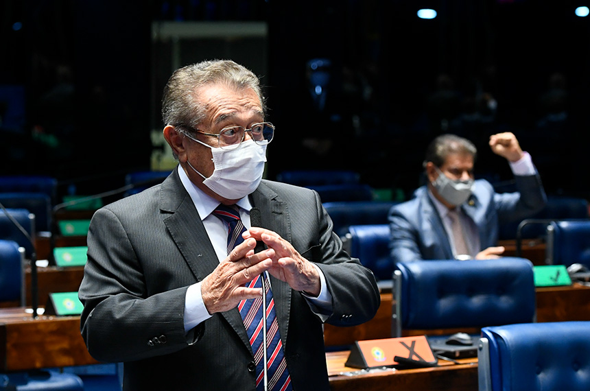 jose maranhao 02 - Em pronunciamento, Davi Alcolumbre faz homenagem ao senador José Maranhão: 'apenas substituo o destinatário' - VEJA VÍDEO