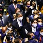 lira e aliados 1 - Com PEC da Imunidade e Emergencial, semana na Câmara tem festival de horrores - Por Samuel de Brito
