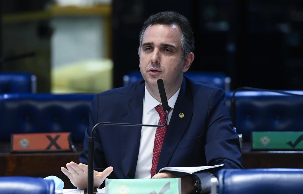 pacheco - Com 57 votos, Rodrigo Pacheco é eleito presidente do Senado