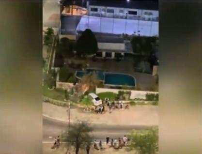 poli - EM JOÃO PESSOA: Homem morre após atirar na PM durante fuga com carro roubado - VEJA VÍDEO