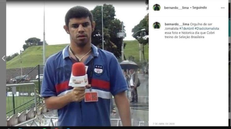 repot - Repórter falsifica carteirinha e é acusado de perseguir, assediar e ameaçar colegas da TV
