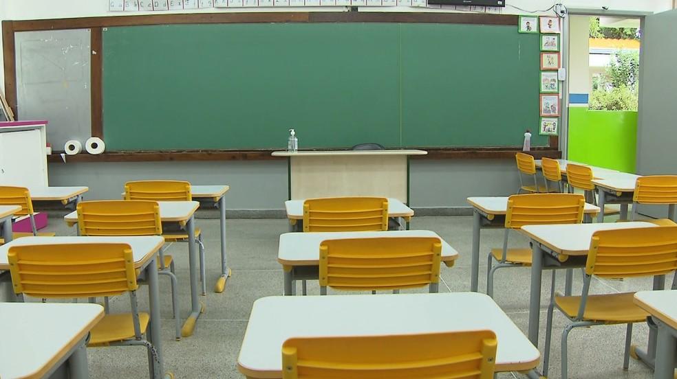 sala de aula - Ministério da Educação não gasta o dinheiro que tem disponível e sofre redução de recursos em 2020, aponta relatório