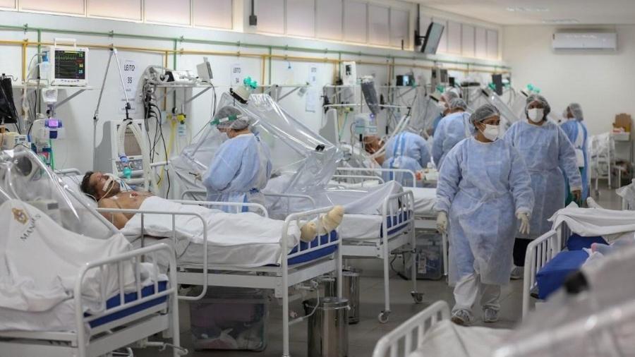 20052020 ala de uti para pacientes internados com coronavirus no hospital gilberto novaes em manaus am 1614591678225 v2 900x506 1 - Paraíba e outros 13 estados já quebraram o recorde de mortes por Covid-19 em um mês; veja números