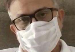 Covid-19: pai de Gefesson de Moura, morto em operação policial é transferido para hospital de João Pessoa