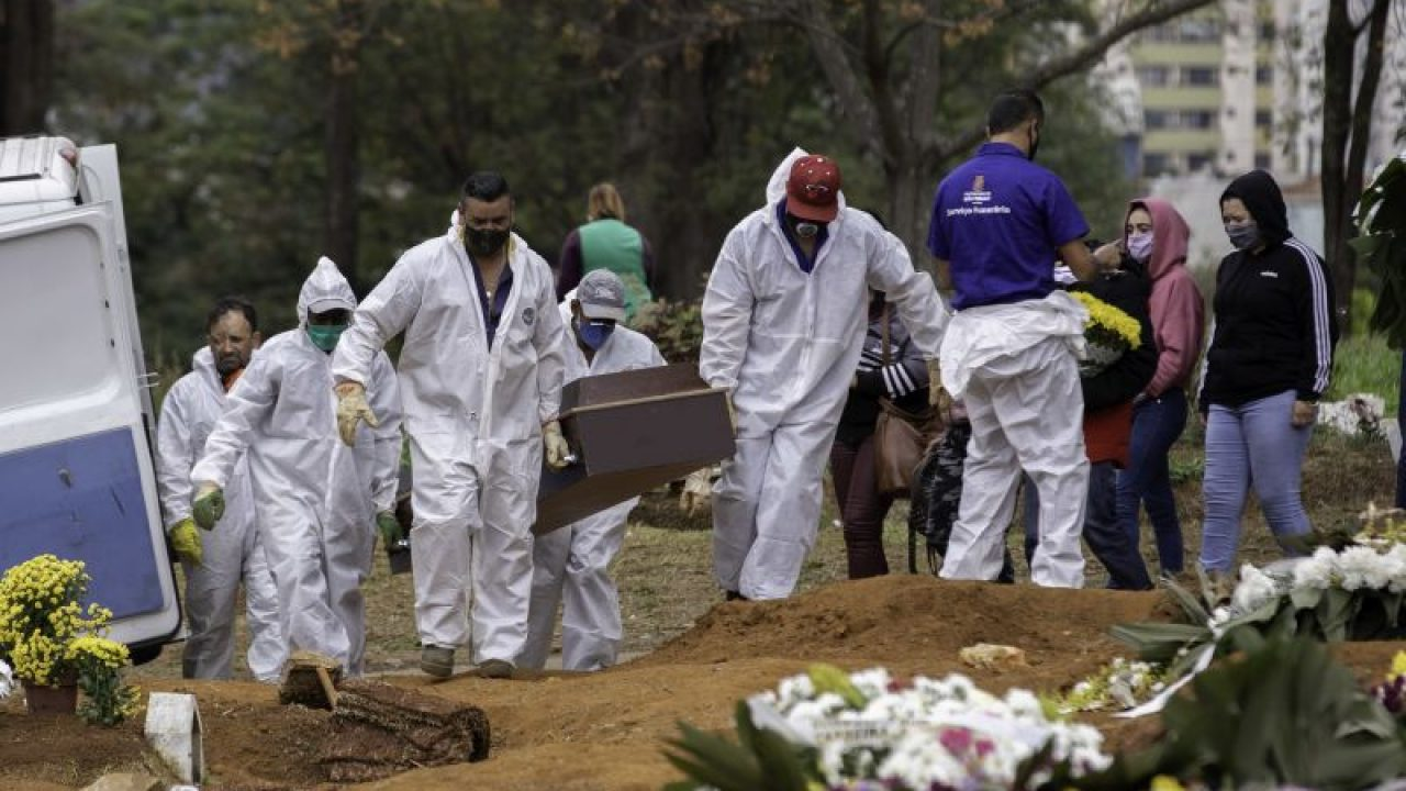 CemiterioCovid 1280x720 1 - PANDEMIA: Brasil bate novo recorde na média móvel de mortes pela Covid-19