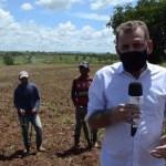 Chico Mendes São João de Piranhas - Prefeito Chico Mendes visita áreas rurais e destaca corte de terras que beneficiou cerca de 700 agricultores de São José de Piranhas