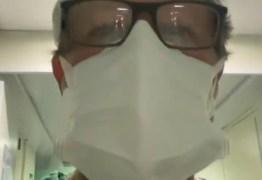 """Médico de hospital particular em JP, rebate fake news e faz desabado sobre atendimentos """"Internamos 50 pacientes nas últimas 48h"""" – VEJA VÍDEO"""