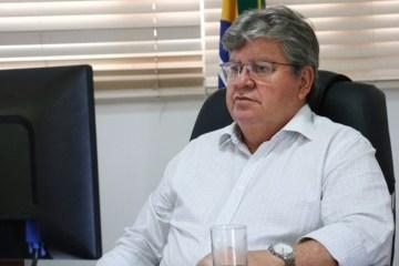 João Azevêdo 1 - João Azevêdo reforça pedido de vacinas feito por governadores ao Planalto