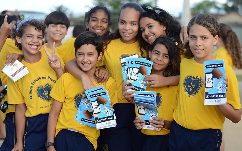 LBV realiza entrega de itens pedagógicos em Campina Grande