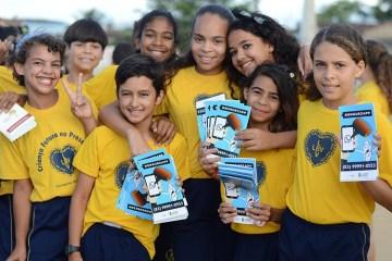 LBV CAMPINA - LBV realiza entrega de itens pedagógicos em Campina Grande