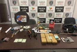 Operação policial prende oito que praticavam homicídios e tráfico de drogas em Patos