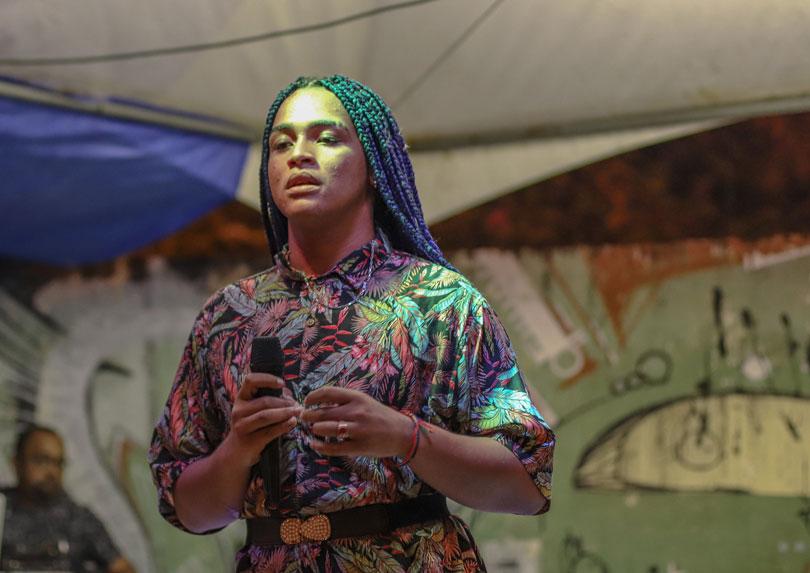 ato jampa 15 - Cantora Bixarte vence principais categorias do 1º Prêmio Toroh de Música Independente da Paraíba