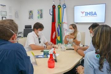Eduardo cumpre agenda em quatro municípios e vai ao Insa em busca de parcerias para projetos de geração de emprego e renda