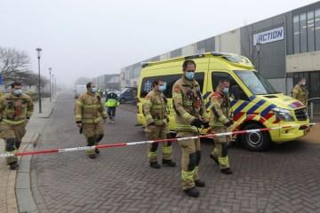 explosão holanda - Explosão atinge centro de testes de covid-19 na Holanda e autoridades afirmam que não foi acidental