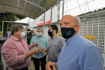 João Azevêdo decide colocar unidade I da Frei Damião em funcionamento para tratamento de pacientes com Covid-19
