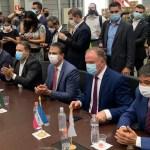 governadores reunidos - Governadores preparam pacto nacional para definir medidas restritivas no combate à pandemia