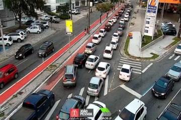 Semob-JP realiza intervenção entre as avenidas Epitácio Pessoa e Rui Carneiro