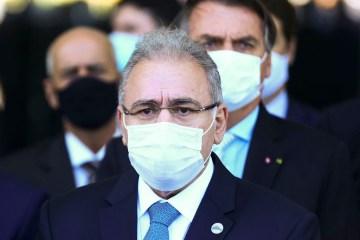 marcelo queiroga jair bolsonaro - Orientação durante a gestão Pazuello causou falta de vacinas para 2ª dose, diz Marcelo Queiroga