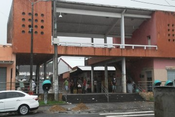 mercado central sem barracas - LIMPEZA, REPARO E DESINFECÇÃO: Mercado Central da capital será interditado neste fim de semana
