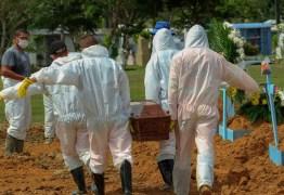 Brasil bate recorde com 3.780 mortes por Covid-19 em 24h