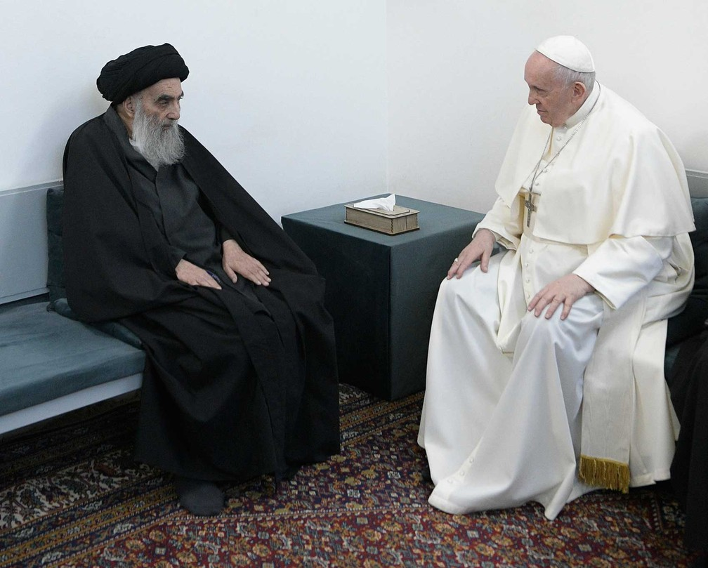 papa1 - Papa Francisco visita local de nascimento de Abraão, pai do judaísmo, cristianismo e islamismo
