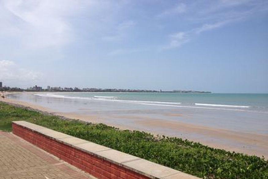 praia bessa - DAS 5H ÀS 8H: Orla do Bessa terá trecho reservado para lazer e prática de esportes