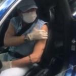 roberto d - Roberto Carlos é vacinado contra a Covid-19 no Rio - VEJA VÍDEO