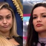 """sarah e juliette - Após fã pedir beijo para 'Sariette', Juliette fica envergonhada e diz: """"Não consigo"""""""