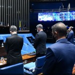 sena - Senadores lamentam recorde de mortes por covid-19 no Brasil