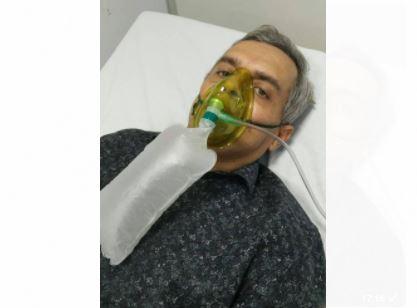 3226 - Apresentador da TV Correio, Jomar Brandão, contrai Covid e é internado em hospital de João Pessoa