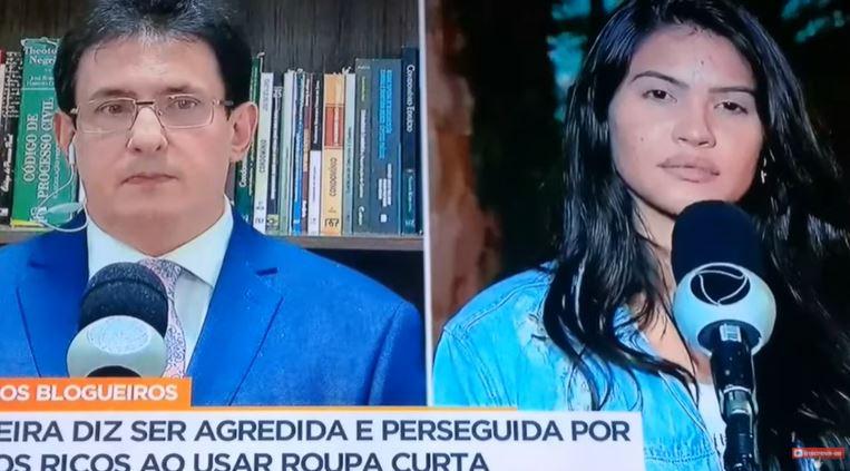 6553 - Após ter sido agredida por vizinhos na grande SP, digital influencer paraibana pede socorro a imprensa - VEJA VÍDEO