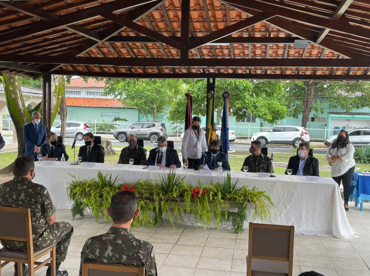 7ace8844 c159 4844 997c bcf3bf5a6ad6 - George Coelho destaca atuação do general Marcos Freire à frente do Comando Militar do Nordeste