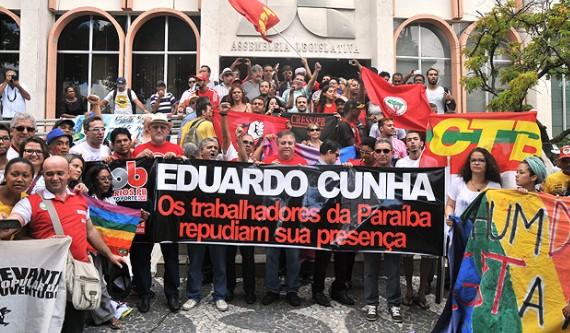Capturar 39 - 'TCHAU, QUERIDA': em livro, Cunha critica Ricardo Coutinho e diz que protesto na Paraíba acelerou rompimento com Dilma