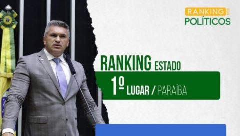 """Capturar.JPGpl  - Julian Lemos lidera ranking como mais bem avaliado político da Paraíba: """"Não é um mandato, é uma missão"""""""