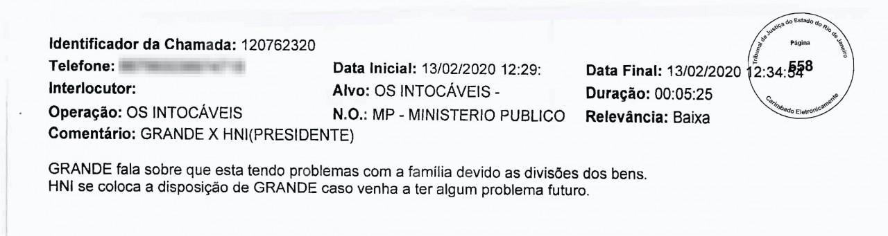 CasaVidro Print3r5 - 'O CARA DA CASA DE VIDRO': Grampos sugerem que comparsas do miliciano Adriano da Nóbrega recorreram a Bolsonaro