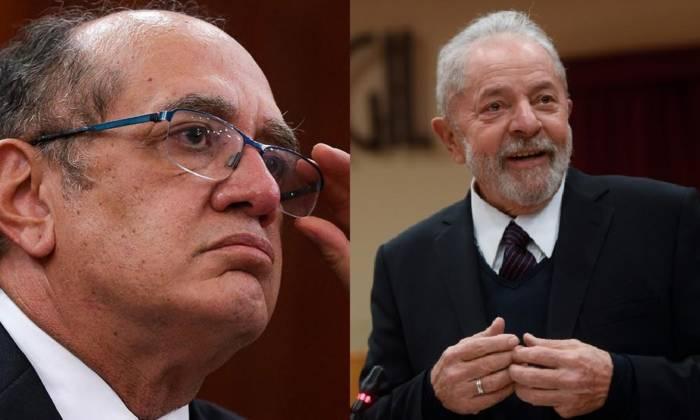 GilmarMendesvsLula - Lula pode pleitear indenização por ter passado 580 dias preso injustamente, diz Gilmar Mendes