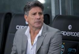 NÃO RESISTIU! Com o Grêmio fora da Libertadores, Renato Gaúcho deixa o comando do time