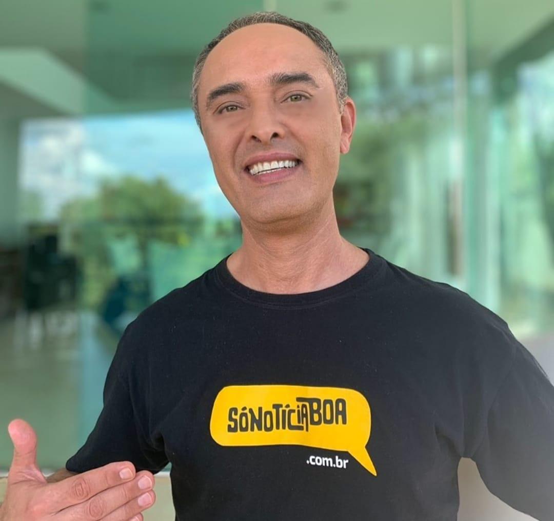 Rinaldo de Oliveira fundador do So Noticia Boa. FOTO ACERVO PESSOAL - Jornalista muda área de atuação e passa a propagar só notícias positivas na internet